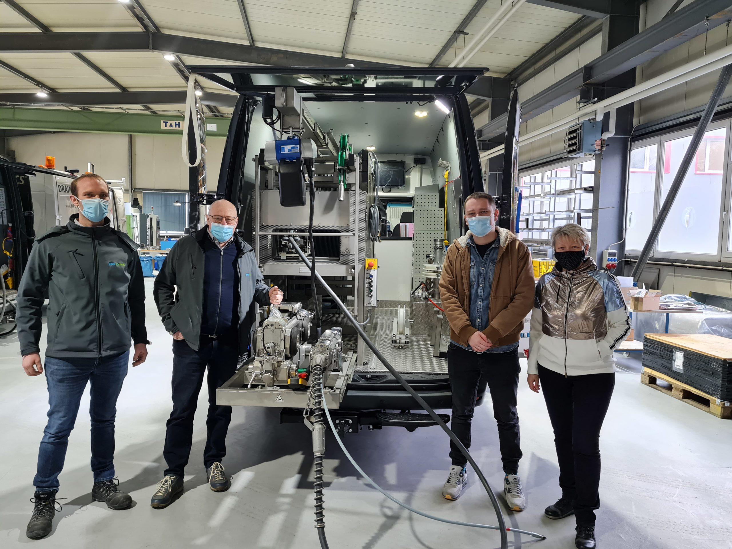 Partenaire Officiel du Drain-jet Robotics pour Benelux & Nord de France.